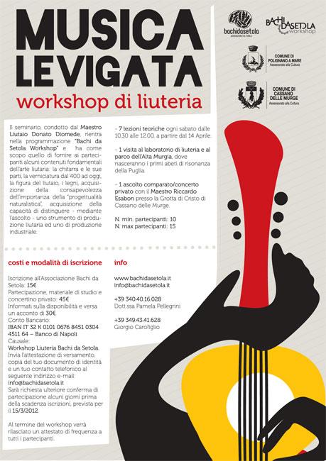 Musica Levigata, il workshop di liuteria